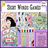 Sight Words Games Dolch Nouns
