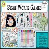 Sight Words Games First Grade