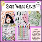 Sight Words Games Pre-Primer