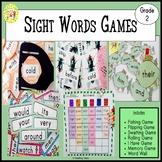 Sight Words Games Second Grade