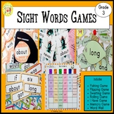Sight Words Games Third Grade