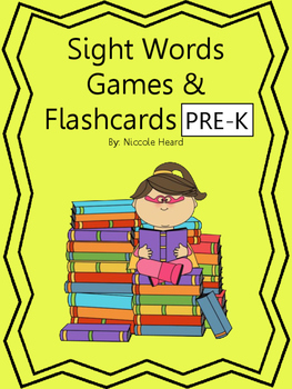 Sight Words Games and Flashcards Pre-K