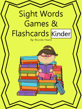 Sight Words Games and Flashcards Kinder