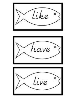 Sight Words Go Fish 2