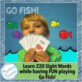Sight Words Game : Go Fish | 220 Dolch Words!