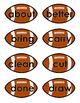 Sight Words Grade 3 - Football