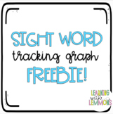 Goal Tracking Graph for Student Goal Folders or Teacher Binder!