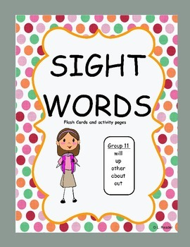 Sight Words Group 11 Package