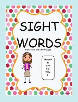 Sight Words Group 4 Package