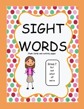 Sight Words Group 7 Package