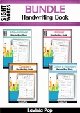 Sight Words Handwriting Book BUNDLE