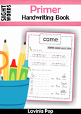 Sight Words Handwriting Book (Primer Words)