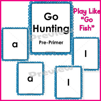 Sight Words {High Frequency Words} ~Kindergarten~Game~Pre-Primer