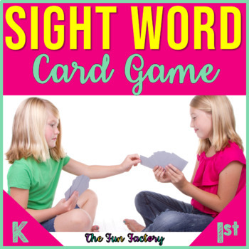 Sight Words {High Frequency Words} ~Kindergarten~Game~Pre-Primer