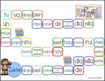 Palabras de alta frecuencia/ High Frequency Words (Set 3)