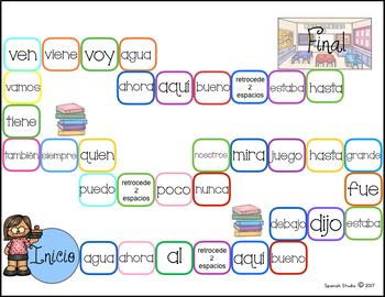 Palabras de alta frecuencia/ High Frequency Words (Set 4)