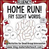 Sight Words - Home Run! Fry Sight Words