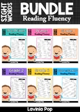 Back to School Sight Word Reading Fluency BUNDLE Distance Learning