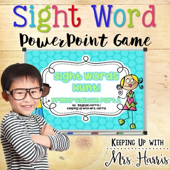 Sight Words PrePrimer PowerPoint Game