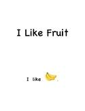 Pre-k and Kindergarten Sight Words Book : I, like