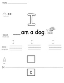 Sight Words: I, am, the & little
