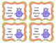 """Sight Words """"I have/Who has"""" Card Game"""