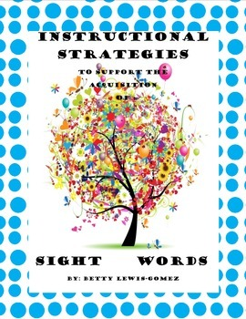 Sight Words Instructional Strategies