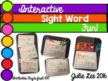 Sight Words Interactive Fun