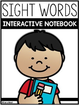 Sight Words Interactive Notebook (EDITABLE)