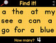 Sight Words Interactive PowerPoint - Dolch Pre-Primer