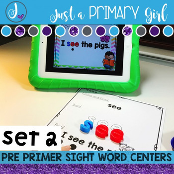 Sight Words Interactive Video Set 2 Pre Primer