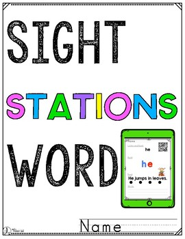 Sight Words Interactive Video Cover