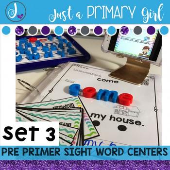 Sight Words Interactive Video Set 3 Pre Primer