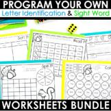 Intervention THE BUNDLE ~ Editable! Help Me! Help You!