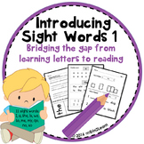 Sight Words Introduction Lessons- First sight words