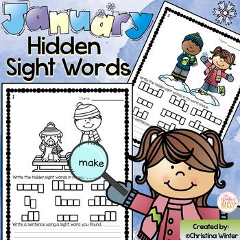Sight Words {January Edition}