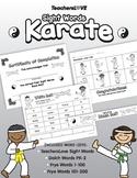 Sight Words Karate