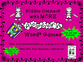 "Sight Words - Kiddos Connect with MORE ""Popcorn Word"" Games"