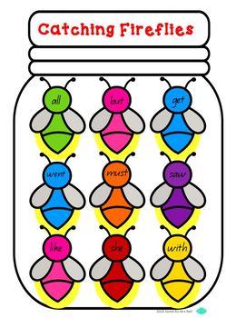 Sight Words - Kindergarten Dolch Word Game