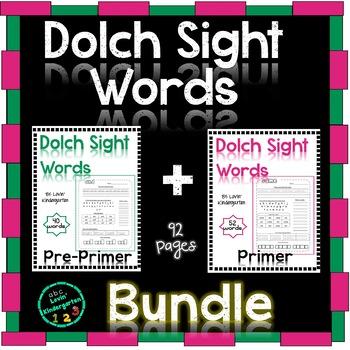Sight Words - Kindergarten/ Grade 1