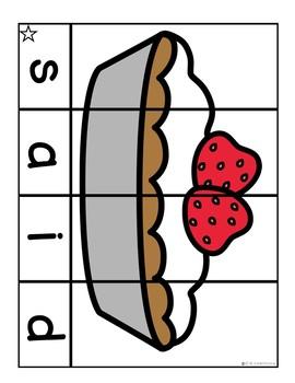 Sight Words Kindergarten Practice |  May Word Puzzles Pre Primer