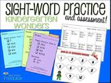 Sight Words Kindergarten Wonders Practice and Assessment