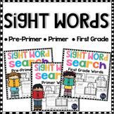 Sight Words Worksheets Kindergarten & First Grade Sight Words Activities BUNDLE