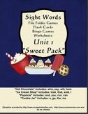 Sight Words Learning Pack Unit 1