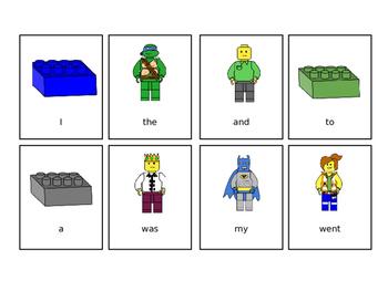 Sight Words Lego