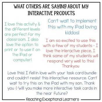 Sight Words Levels 1-5: Interactive Approach for Special Education