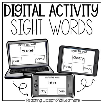 Sight Words Levels 1-5: An Interactive Approach for Specia