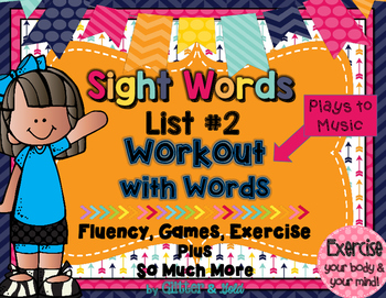 Sight Words List 2 BRAIN-ercises, Games, Flashcards, and S