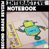Sight Words Interactive Notebook Review: Second Grade List