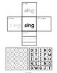 Sight Words Interactive Notebook Second Grade Set 11 (best